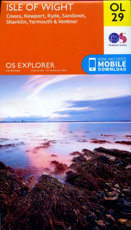 OS Explorer OL 29 Isle of Wight